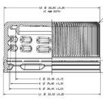 PCO 1881-22.5 gr. cork stopper
